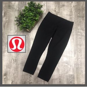 Lululemon Wunder Under Crop Black 2